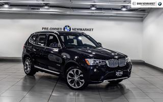 Used 2016 BMW X3 xDrive28d -PREM PKG PARKING ASSIST| for sale in Newmarket, ON