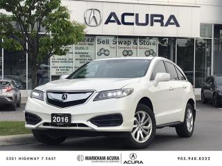 Used 2016 Acura RDX at V6 AWD, Moonroof, Power Liftgate for sale in Markham, ON