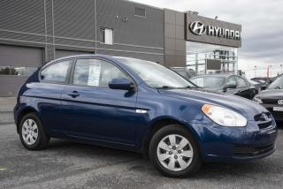 Used 2010 Hyundai Accent Hayon 3 portes. for sale in St-Hyacinthe, QC