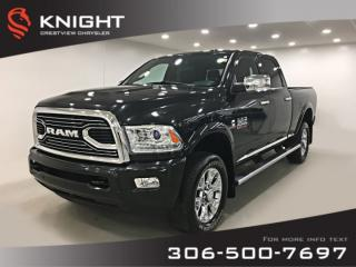 Used 2016 RAM 2500 Longhorn Crew Cab | Ventilated Seats | Sunroof | Navigation for sale in Regina, SK