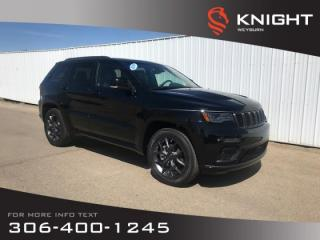 New 2019 Jeep Grand Cherokee Limited X | Heated Seats | Bluetooth | Remote Start for sale in Weyburn, SK