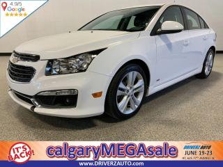 Used 2016 Chevrolet Cruze Limited 2LT CLEAN CARFAX, ONE OWNER, LEATHER SEATING,