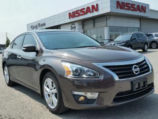 Used 2015 Nissan Altima 2.5 SL w/all leather,NAV,pwr moonroof,heated seats,rear cam,climate control,remote start for sale in Cambridge, ON