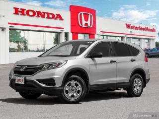 Used 2016 Honda CR-V LX Sold Pending Delivery..., Bluetooth, Back Up Camera and more! for sale in Waterloo, ON