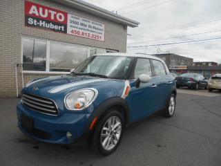 Used 2011 MINI Cooper Countryman for sale in St-Hubert, QC