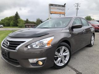 Used 2013 Nissan Altima 2.5 SV NAV! Loaded Sunroof,Heated Seats, BackupCam, AUTOSTART, Bluetooth, Pwr Seat, Alloys, Fog Lights and for sale in Kemptville, ON