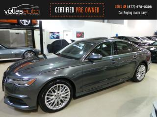 Used 2018 Audi A6 3.0T Progressiv 3.0T| PROGRESSIV| QUATTRO| NAVIGATION for sale in Vaughan, ON