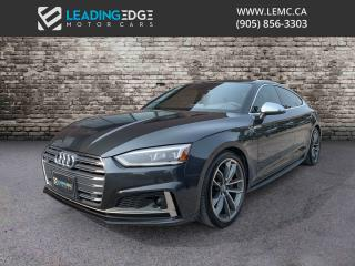 Used 2018 Audi S5 3.0T Technik Sportback, HUD, Bang & Olufsen, 360 Camera, Carbon Inlays for sale in Woodbridge, ON