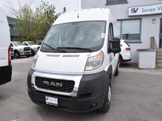 New 2019 RAM 1500 ProMaster High Roof 136 in. WB for sale in Concord, ON