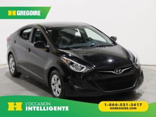 Used 2016 Hyundai Elantra L+ A/C GR ÉLECT for sale in St-Léonard, QC