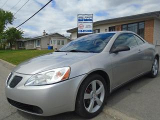 Used 2007 Pontiac G6 GT for sale in Ancienne Lorette, QC