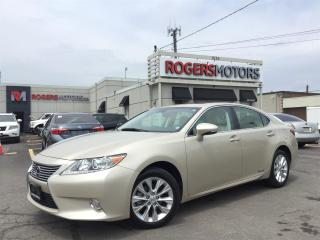 Used 2013 Lexus ES 300 - HYBRID - LEATHER - SUNROOF - REVERSE CAM for sale in Oakville, ON