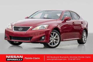 Used 2011 Lexus IS 250 Is250 Awd Navigation for sale in Montréal, QC