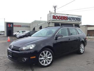 Used 2013 Volkswagen Golf Sportwagon TDI - NAVI - PANO ROOF - LEATHER for sale in Oakville, ON