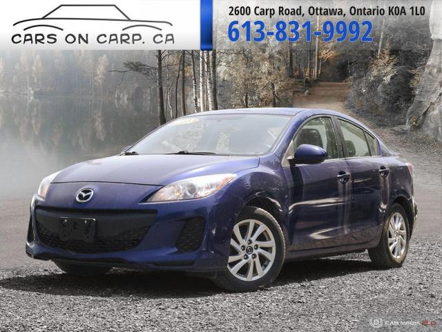 2013 Mazda MAZDA3 i Sport Auto 4-Door GX