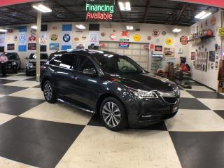 Used 2015 Acura MDX SH-AWD TECH PKG 7PASSENGERS NAVI REAR CAMERA 54K for sale in North York, ON