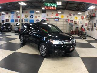 Used 2016 Acura MDX SH-AWD TECH PKG 7PASSENGERS NAVI REAR CAMERA 53K for sale in North York, ON