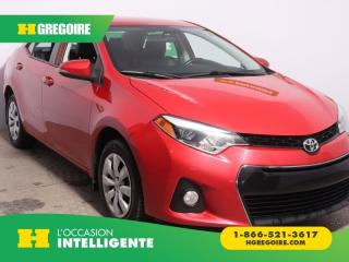 Used 2015 Toyota Corolla S A/c Gr élect for sale in St-Léonard, QC