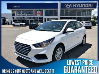 New 2019 Hyundai Accent PREFERRED AUTO for sale in Port Hope, ON