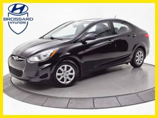 Used 2013 Hyundai Accent GL, SIÈGES CHAUFFANTS, CRUISE for sale in Brossard, QC