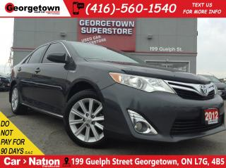 Used 2012 Toyota Camry HYBRID XLE | HYBRID | ALLOYS | FOGS | BLUETOOTH | for sale in Georgetown, ON