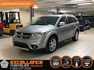 Used 2018 Dodge Journey GT AWD 7PLACES *CUIR/TOIT/NAV* for sale in Vaudreuil-Dorion, QC