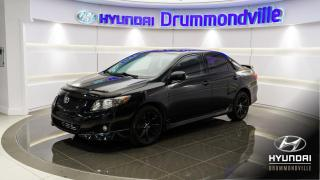 Used 2010 Toyota Corolla S + TOIT + MAGS 16PO + A/C + WOW !! for sale in Drummondville, QC