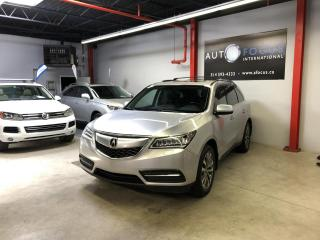 Used 2014 Acura MDX AWD, 7 PASS, NAV, CAMERA, CUIR, TOIT OUV for sale in Montréal, QC