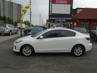 Used 2013 Mazda MAZDA3 GS-SKY / FUEL SAVER /ALLOYS / NEW BRAKES/ONE OWNER for sale in Scarborough, ON