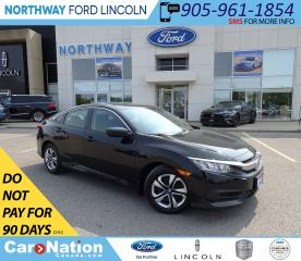 Used 2018 Honda Civic LX | KEYLESS | BACK UP CAM | BLUETOOTH | CRUISE | for sale in Brantford, ON