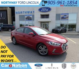 Used 2018 Hyundai Elantra GL | KEYLESS | HTD SEATS+WHEEL | BACK UP CAM | for sale in Brantford, ON