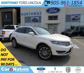 Used 2018 Lincoln MKX Reserve | AWD | NAV | HTD LEATHER | PANO ROOF | for sale in Brantford, ON
