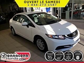 Used 2015 Honda Civic LX***GARANTIE PROLONGÉE***TOUJOURS ENTRE for sale in Donnacona, QC
