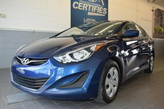 Used 2016 Hyundai Elantra LE-R for sale in St-Eustache, QC