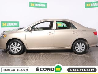 Used 2010 Toyota Corolla CE A/C for sale in St-Léonard, QC