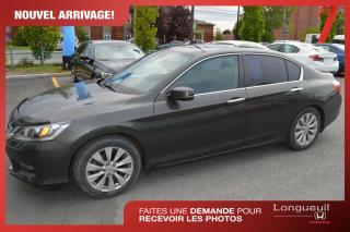 Used 2014 Honda Accord ** VENDU ** EX-L ***1 seul propriétaire* for sale in Longueuil, QC