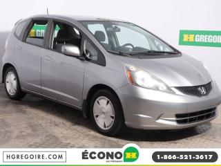 Used 2009 Honda Fit LX A/C GR ÉLECT for sale in St-Léonard, QC