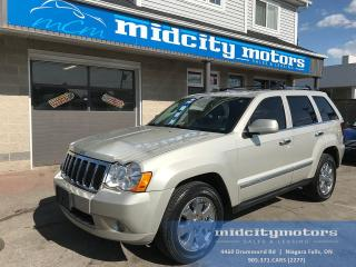 Used 2010 Jeep Grand Cherokee Laredo/4x4/Leather/Sunroof/DVD for sale in Niagara Falls, ON