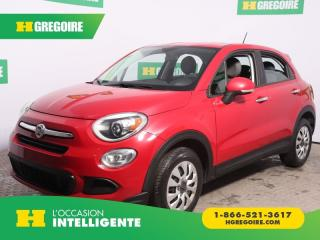 Used 2016 Fiat 500 X POP A/C for sale in St-Léonard, QC