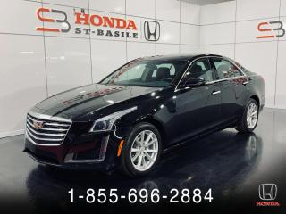 Used 2017 Cadillac CTS 2.0T + AWD + CUIR + GARANTIE + NAVI + WO for sale in St-Basile-le-Grand, QC