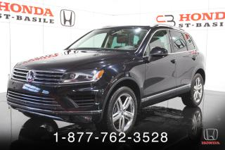 Used 2017 Volkswagen Touareg Execline 4 portes TI for sale in St-Basile-le-Grand, QC