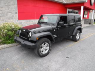Used 2016 Jeep Wrangler SPORT for sale in Cornwall, ON