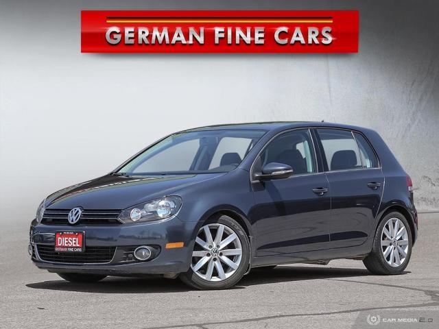 2012 Volkswagen Golf **HIGHLINE, TDI, DIESEL, BLUETOOTH**