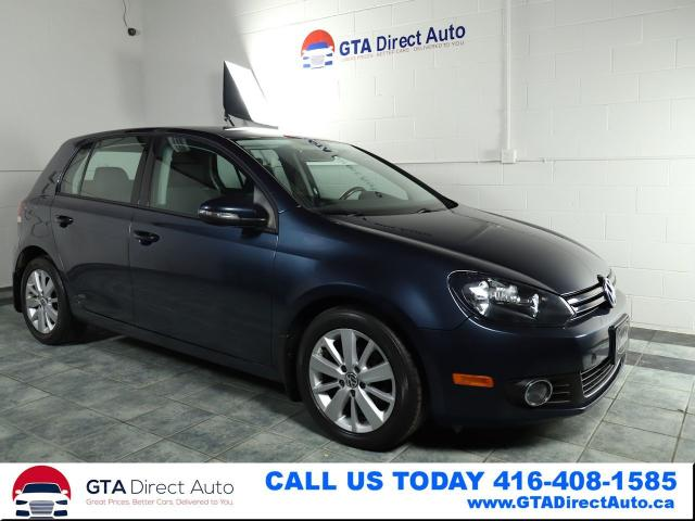 2013 Volkswagen Golf Comfortline TDI 6-Speed Bluetooth Alloys Certified