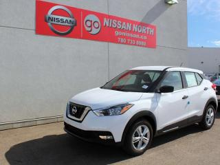 New 2019 Nissan Kicks S for sale in Edmonton, AB