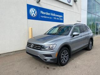 Used 2019 Volkswagen Tiguan COMFORTLINE W/ SUNROOF + TECH PKG - CERTIFIED for sale in Edmonton, AB