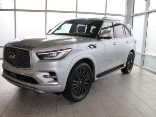 Used 2019 Infiniti QX80 Limited for sale in Edmonton, AB