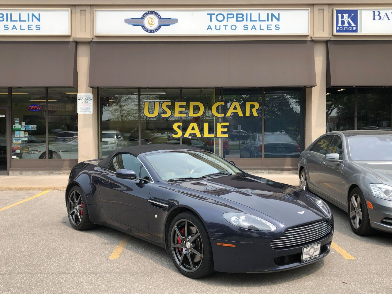 2007 Aston Martin Vantage Convertible, Only 31K kms