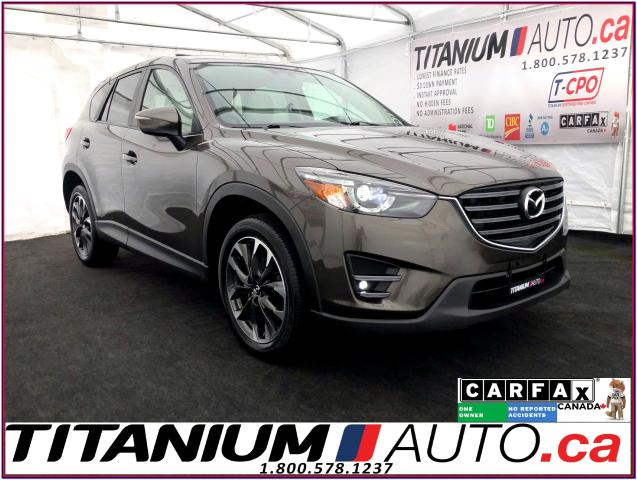 2016 Mazda CX-5 GT+AWD+GPS+Camera+Blind Spot+Sunroof+Leather Memor