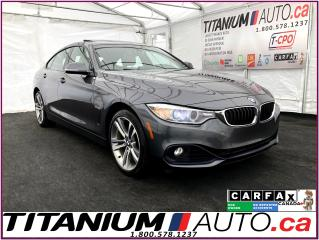 Used 2016 BMW 4 Series GranCoupé+Sport+xDrive+GPS+Camera+Heads Up Display for sale in London, ON